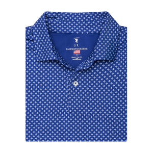 THE EVERT PRINT POLO