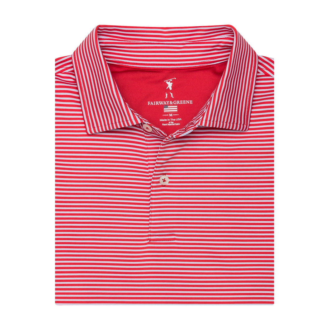 The Talbert Stripe Polo