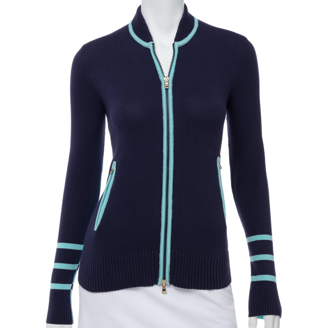 ROW BASEBALL CARDIGAN