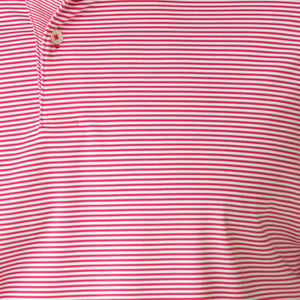 USA The Alpha Stripe Jersey Polo - Fairway & Greene