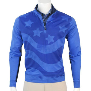 USA QUARTER ZIP PULLOVER