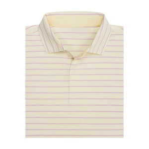 BRYCE STRIPE NATURAL JERSEY POLO