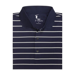 SURF STRIPE TECH JERSEY POLO