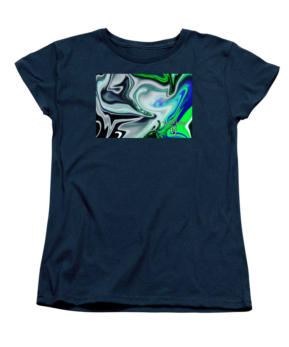 Liquid Cosmos - Women's T-Shirt (Standard Fit)