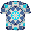 Blue Mandalla -Men's Sublimation T-Shirt - Indigo G
