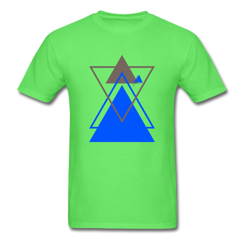 Geometric Perception - Men's T-Shirt - Indgo G - Indigo G