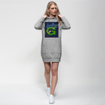 Load image into Gallery viewer, Indigo G Guitar Premium Adult Hoodie Dress - Indigo G