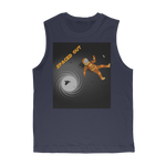 Load image into Gallery viewer, Spaced Out Orange Space Collection Classic Adult Muscle Top - Indigo G