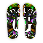 Load image into Gallery viewer, Indigo G Music Indigo G Music - Adult Flip Flops