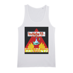 Load image into Gallery viewer, Red Triangle Organic Jersey Unisex Tank Top - Indigo G