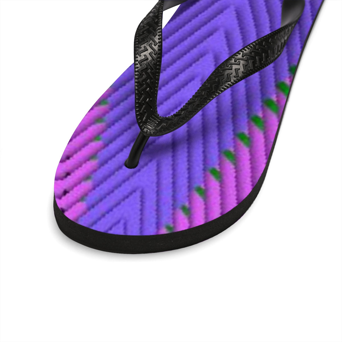 Indigo G Attraction Escalator Unisex Flip-Flops - the-Indigo-G-experiece - Indigo G