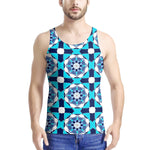 Load image into Gallery viewer, Chakra Blue - Men's All Over Print Tank