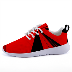Red Rush Sneaks - the-indigo-g-experience - Indigo G