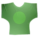 Load image into Gallery viewer, Indigo G Lime Green COLLECTION Sublimation Batwing Top - Indigo G