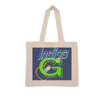 Load image into Gallery viewer, Indigo G Guitar Large Organic Tote Bag - Indigo G - Indigo G