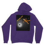 Load image into Gallery viewer, Indigo G Spaced Out Orange Space Classic Adult Hoodie - Indigo G