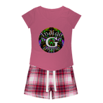 Load image into Gallery viewer, Indigo G Music Indigo G Music - Girls Tee and Flannel Short