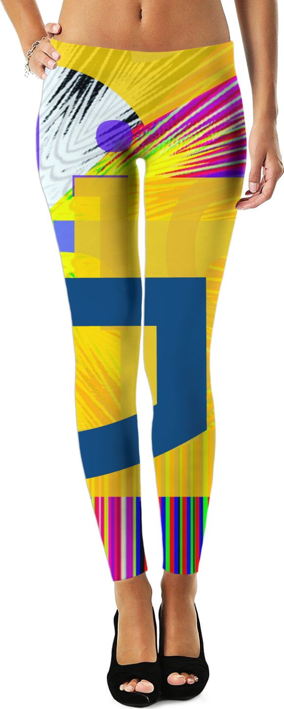Glitched women's leggings