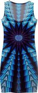 Spider Blue Custom Dress - Indgo G - Indigo G