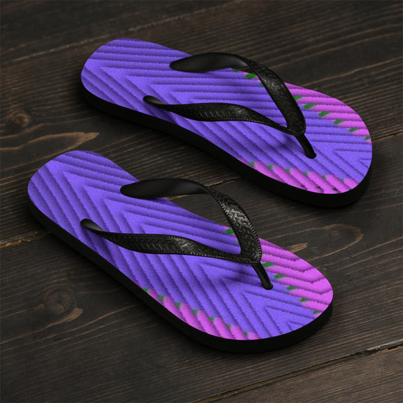 Attraction Escalator Unisex Flip-Flops