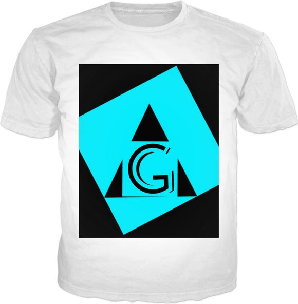 Indigo G (Brand Name Baby Blue original logo) Men's tee