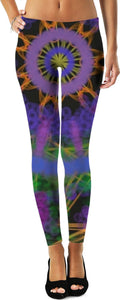 A Purple Circle Women's Leggings