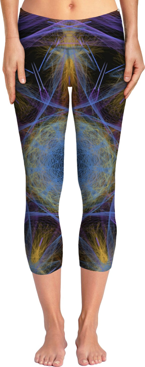 Elegant Fury women's yoga pants - Indigo G