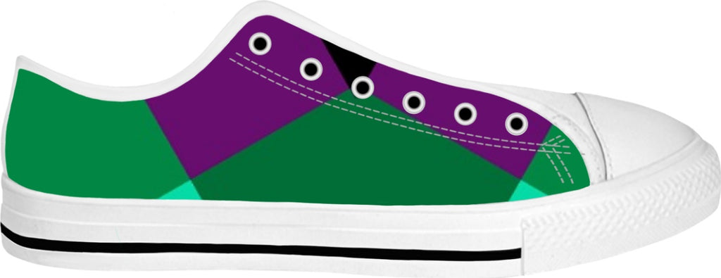 Indigo G 8 bit Unisex low top Swanky Shoes - the-indigo-g-experience - Indigo G