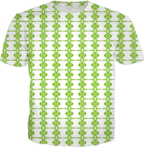 Lime Green Barbed-Wire Men's T-shirt - Indigo G