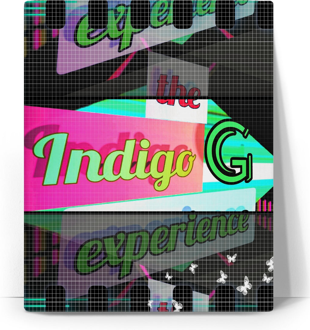 Indigo G Home Decor Artistic Canvas (educational film strip version) - Indigo G - Indigo G