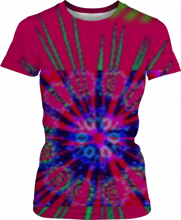 Abstract Amy women's top
