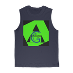 Load image into Gallery viewer, Lime Green COLLECTION Classic Adult Muscle Top - the -Indigo-G-experience - Indigo G