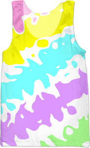 Splashes Of Color Tank Top