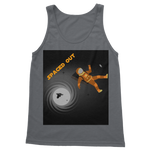 Load image into Gallery viewer, Spaced Out Orange Space Collection Classic Adult Vest Top - Indigo G