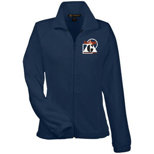 3D-3 - Women's Fleece Jacket - Indigo G