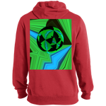 Load image into Gallery viewer, Mirror Ball Guitar - Tall Pullover Hoodie - Indigo G - Indigo G