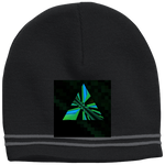 Load image into Gallery viewer, Mirror Triangle - Sport Tek Colorblock Beanie - Indigo G - Indigo G