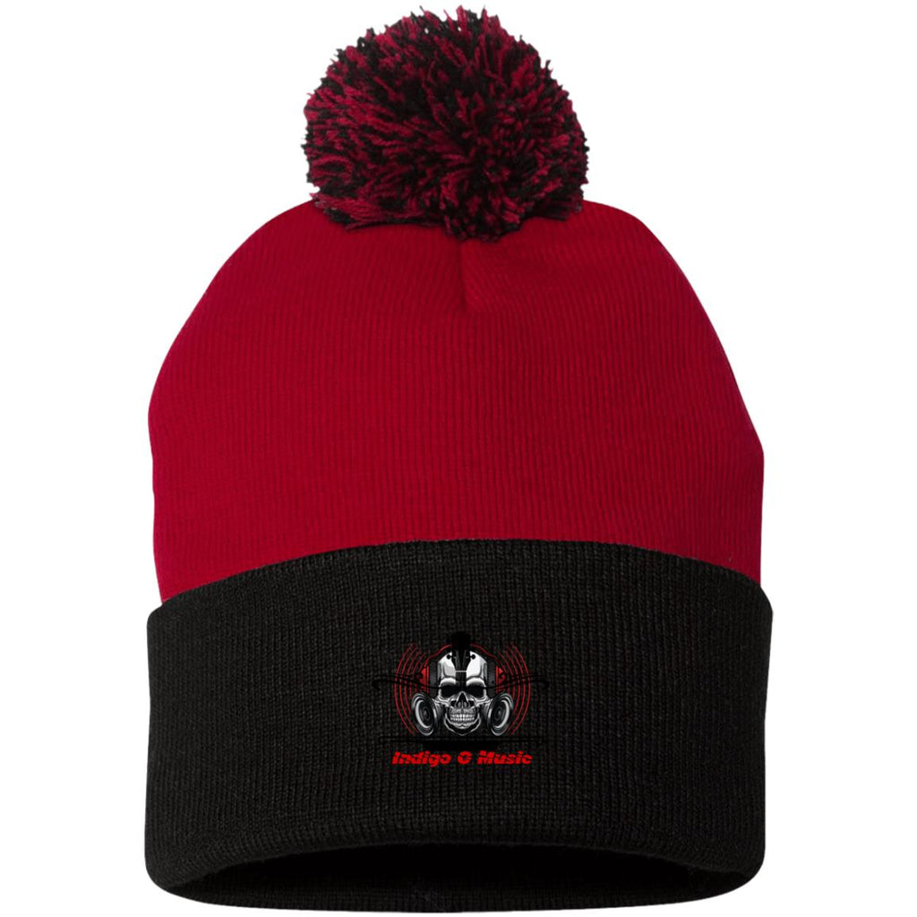 Skull Phones - SP15 Pom Pom Knit Cap