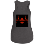 Load image into Gallery viewer, Fire Wings -District Women's Perfect Tri Racerback Tank - Indigo G - Indigo G