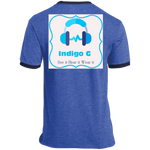 Load image into Gallery viewer, PC54R Port & Co. Ringer Tee - Indigo G