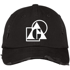 G Shapes - DT600 Distressed Dad Cap - Indigo G