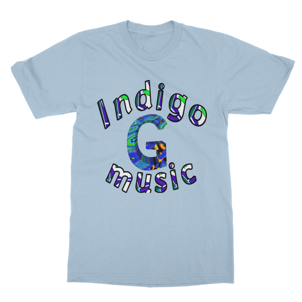 Indigo G Music 0 - UK Classic Adult T-Shirt - Indigo G