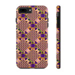 Load image into Gallery viewer, Glitchy Tough Phone Case - Indigo G - Indigo G