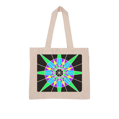 Lucky 7 Large Organic Tote Bag