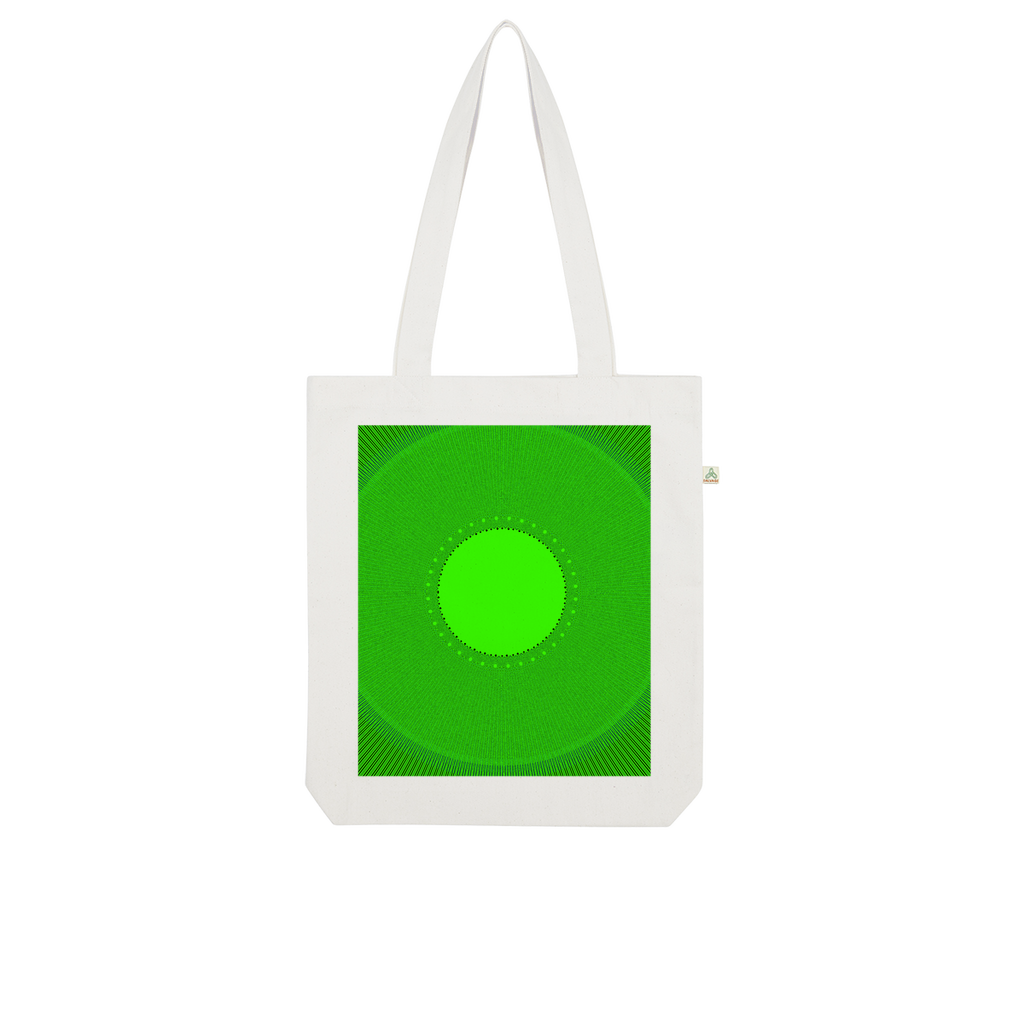 Indigo G Lime Green COLLECTION Indigo G Organic Tote Bag - Indigo G