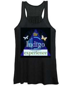 Blue Triangle - Women's Tank Top - Indigo G