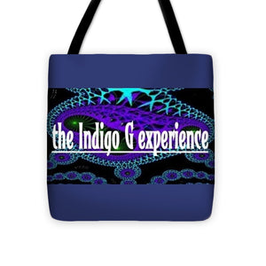Blue Spores - Tote Bag