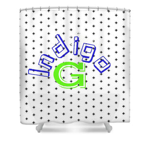 Concave Logo - Shower Curtain