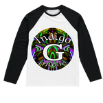 Load image into Gallery viewer, Indigo G Music Sublimation Baseball Long Sleeve T-Shirt