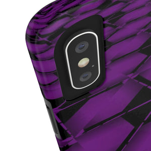 Purple Pebels Tough Phone Case - Indigo G - Indigo G